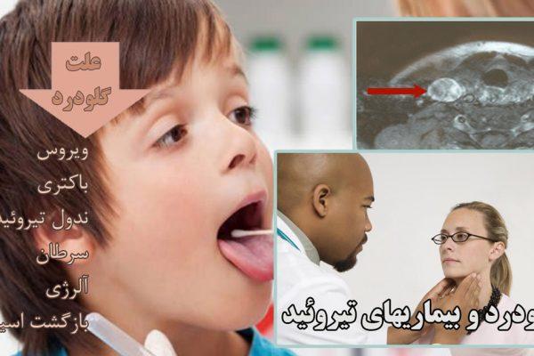 علت درد زیر گلو چیست